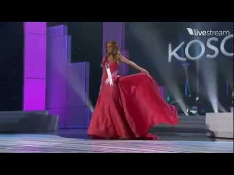 Miss Universe 2011 Preliminary - KOSOVO (Aferdita Dreshaj)