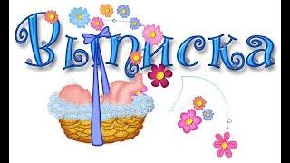 Выписка из роддома _2011...