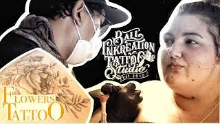 FLOWER TATTOO ‼️ BALI INKREATION TATTOO STUDIO - KUTA - BALI‼️