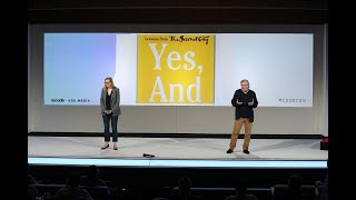 Two Second City directors show how improv can be used the workplace | Code 2018
