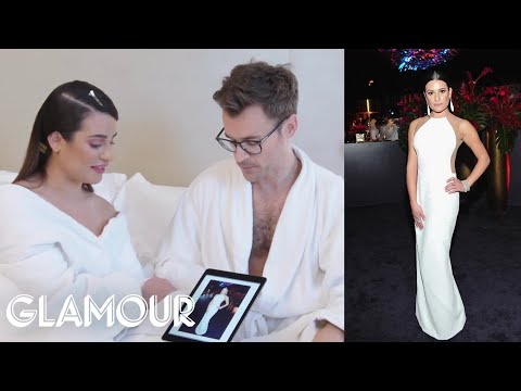 Lea Michele Discusses Her Favorite Red Carpet Looks of All Time | Glamour