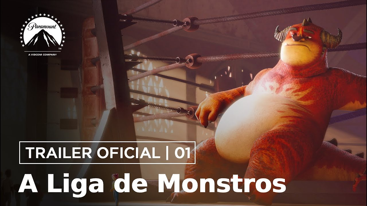 A Liga de Monstros | Trailer Oficial #1 | DUB | Paramount Pictures Brasil