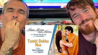 Tumhi Dekho Naa Best Song - KANK Shahrukh Khan, Rani Sonu Nigam Alka Yagnik REACTION!!