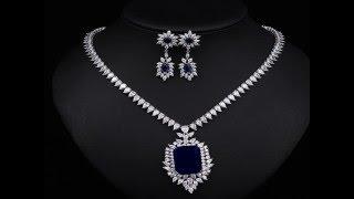 Blue Sapphire Jewelry Sets