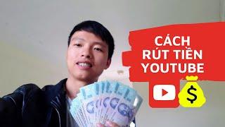 Cách rút tiền từ Youtube 2020
