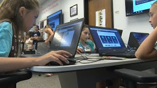 Nationally-recognized center teaches Girl Scouts cybersecurity