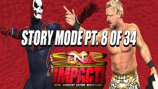 TNA iMPACT! (Video Game) PS2 Storymode Part 8 of 34