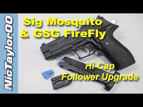 The NicTaylor Follower for the Sig Mosquito & GSG FireFly - YouTube Safe