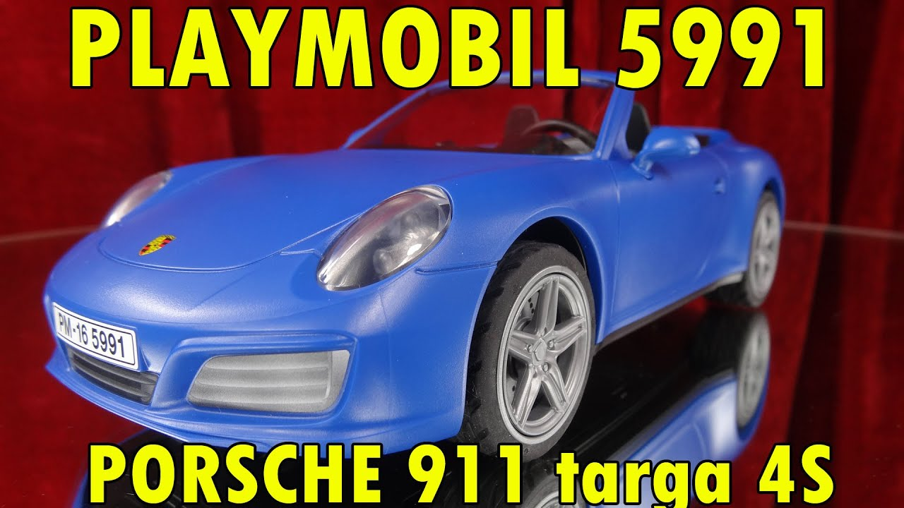 playmobil 5991 porsche 911 targa 4s yes it s magic. Black Bedroom Furniture Sets. Home Design Ideas