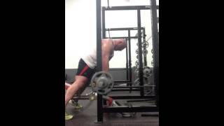 Chest Supported Scrape The Rack Bb Rows To Ribs + Rows To M