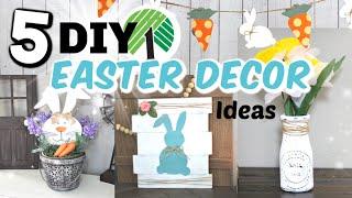 5 DOLLAR TREE Easter Decor DIYS   DIY Easter Decor Dollar Tree Crafts   Krafts by Katelyn