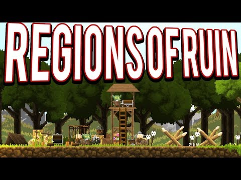 EXPLORE AND BUILD A DWARF EMPIRE - REGIONS OF RUIN GAMEPLAY LETS PLAY