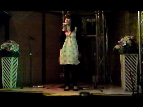 noela canta rosalinda parte 2 (karaoke rias baixas-ourense)