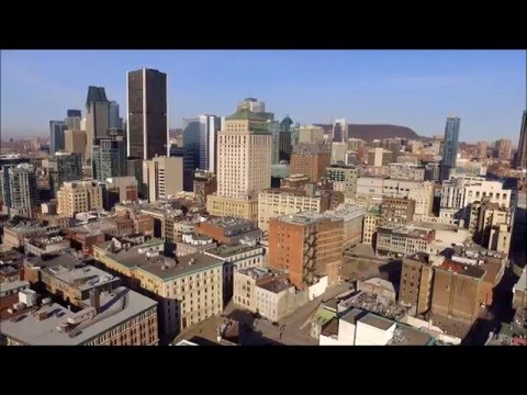 Old Montreal Drone Footage