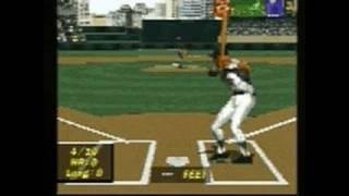 MLB Pennant Race PlayStation Gameplay - MLB Pennant Race