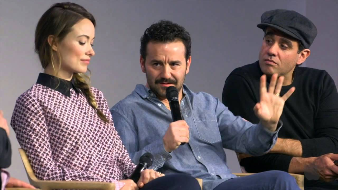 vinyl hbo cast interview with bobby cannavale olivia wilde and max casella youtube. Black Bedroom Furniture Sets. Home Design Ideas
