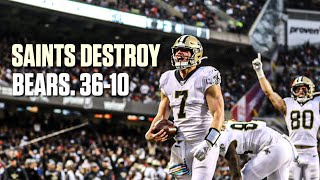 New Orleans Saints VS Chicago Bears | Week 7 Recap & Review