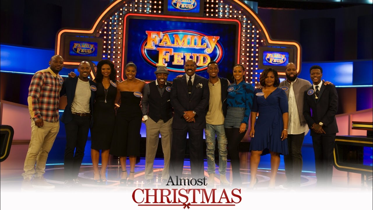 almost christmas family feud