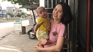 Em Min Ngẩn Tò Te Đứng Hóng Gió Với Mẹ 💓 BunBun Kids TV