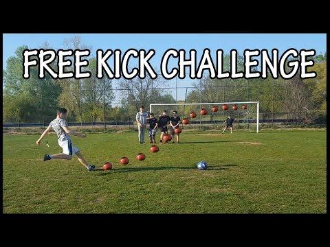 FREE KICK CHALLENGE !