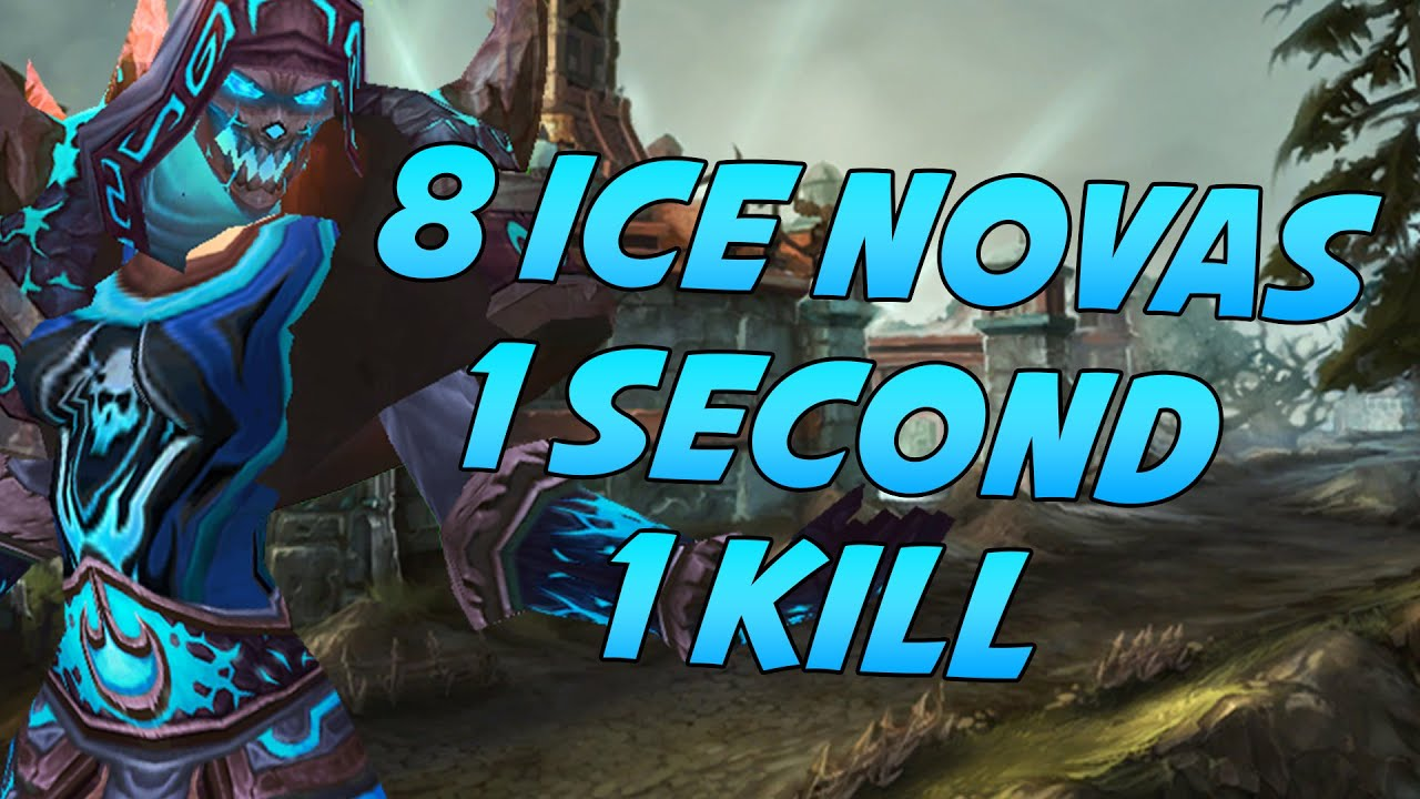 Frost Mage Kills with 8 Ice Novas in One Second Explanation - YouTube