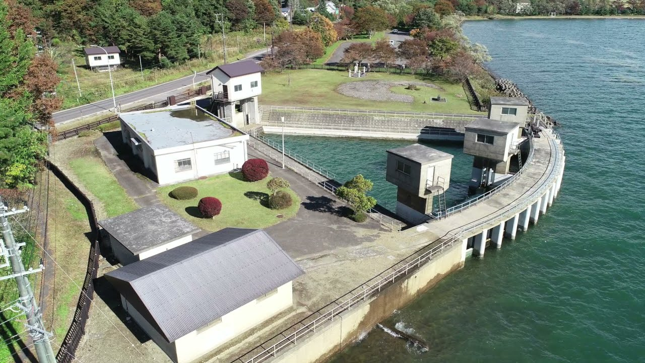 UAV撮影:世界かんがい施設遺産(安積疏水)