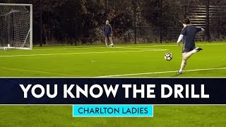 6 Station Shooting Challenge   Charlton Ladies   You Know The Drill