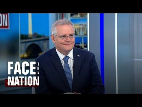 """Extended interview: Australian Prime Minister Scott Morrison on """"Face the Nation"""""""