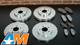 Review: Mustang Power Stop Z26 Street Warrior Brake Rotor & Pad Kit - Front & Rear (1994-2014 All)