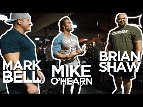 Mark Bell, Mike O'Hearn, Brian Shaw - Monster Chest Workout