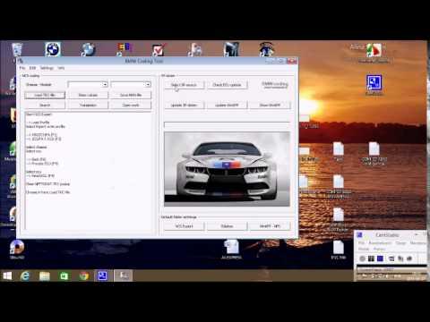 BMW NCS Coding tool update sp daten v55