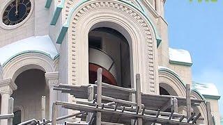 Фасадные работы на Софийском соборе должны быть завершены этой осенью(Быстрее, лучше и экономичнее: фасад Софийского собора должен быть готов уже в этом году - такую задачу поста..., 2017-01-18T08:13:53.000Z)