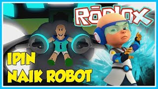 THE ROBOT RIDE AGAINST THE MINION MEL (ENDING)-ROBLOX UPIN IPIN