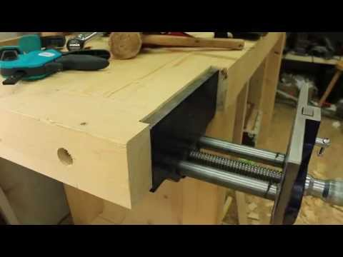 Installing my new vise - Part 1