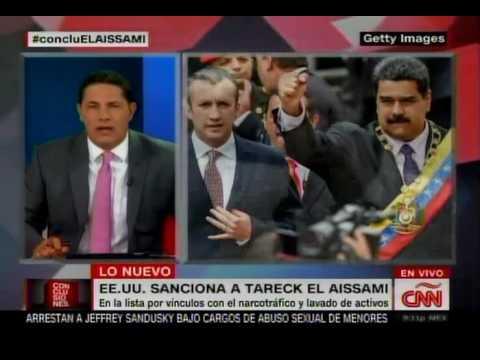 """CNN: Fernando del Rincón acusa a Tareck El Aissami de """"capo"""" y narcotraficante"""