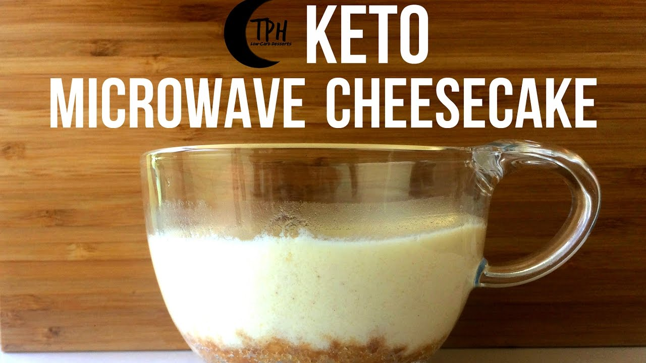 Keto Mug Cheesecake Low Carb Microwave Cheesecake Recipe