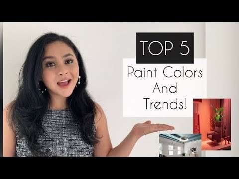 TOP 5 Paint Colors and Trends!    Home Design