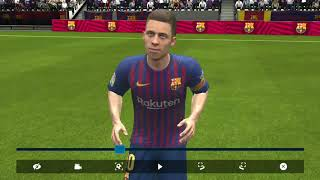 FIFA mobile GamePlay|| Players faces||Graphics features.