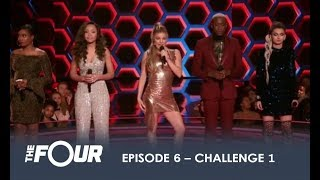 The First Challenge Of The Night! | Finale | The Four