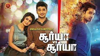 Nikhil Latest Blockbuster Tamil Movie | Surya vs Surya | Tridha Choudhury | Madhubala