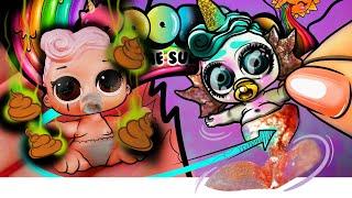 From FAKE LOL Surprise Doll to Poopsie Unicorn | Custom Doll DIY