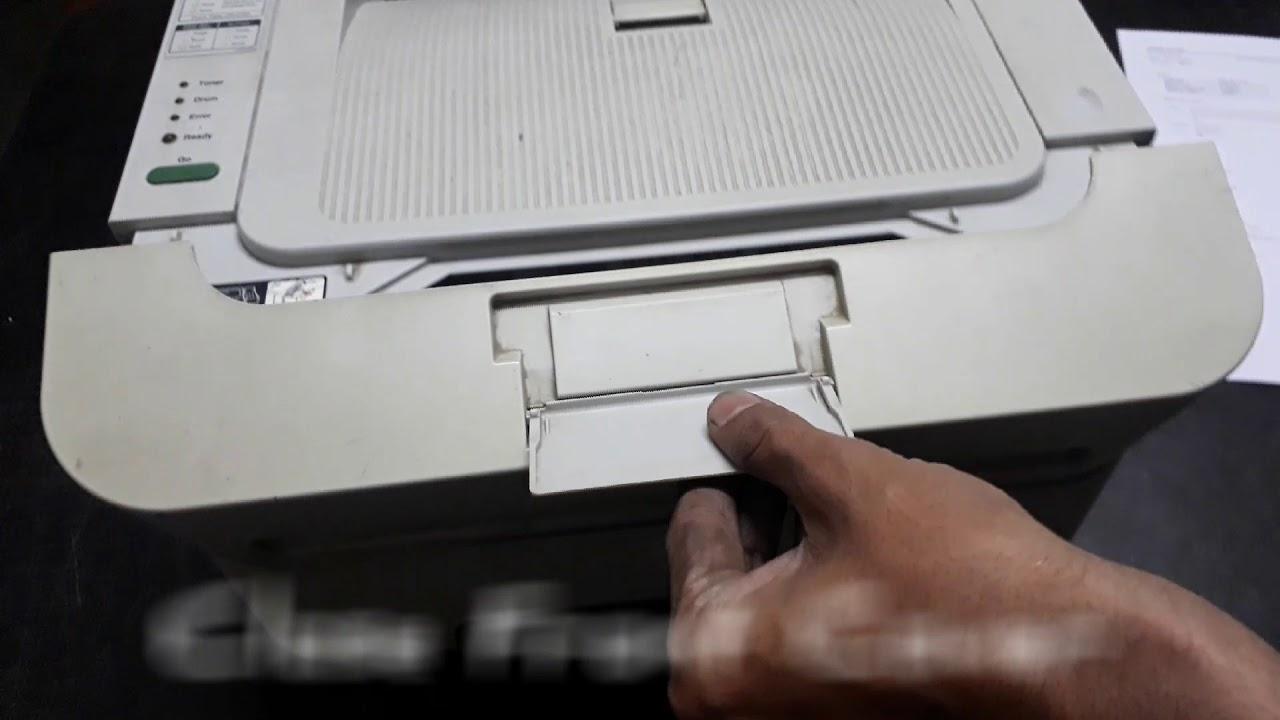 Brother Printer Toner Drum Reset for HL-2130, HL-2132, HL-2321, HL-2321d - YouTube