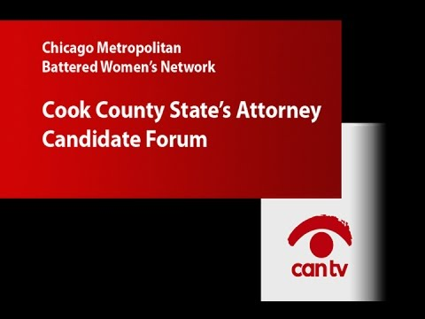 Cook County State's Attorney Candidate Forum