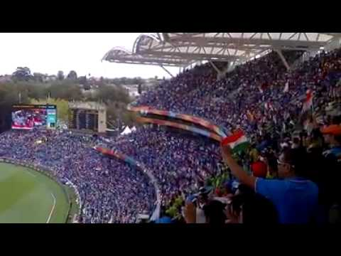 55,000 people sing Indian national anthem in Adelaide Oval !