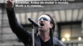 Luciano Pavarotti e Bono Vox(U2) Miss Sarajevo - Homenagem