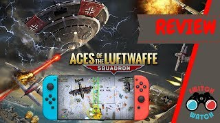 Aces of the Luftwaffe nintendo switch review (Video Game Video Review)