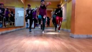 Zumba on Dheere dheere by Dance Factory (zin Piu)