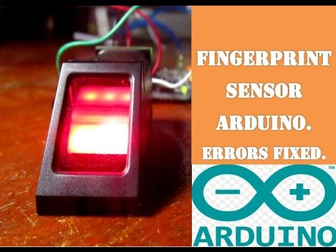 How to interface Fingerprint Sensor with Arduino? 100% Working (All Errors  Fixed) - Tutorial # 4