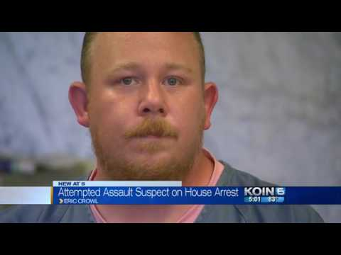 Eric Crowl, released from  Multnomah County Jail after Cops lie about his intentions
