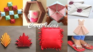 8 Easy Craft Ideas | DIY activities | Useful Things